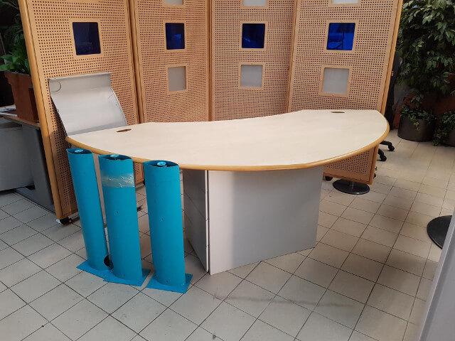 Bureau arrondi