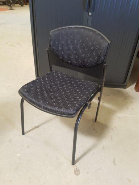 chaise 4 pieds DAUPHIN tissunoir