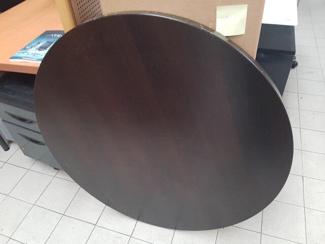 table ronde D100 wengué