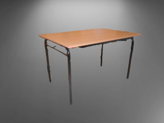 Table pliante hêtre L120 P80