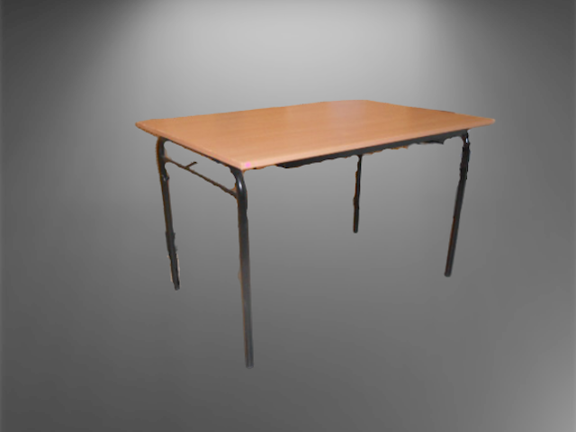 Table pliante hêtre L120 P80