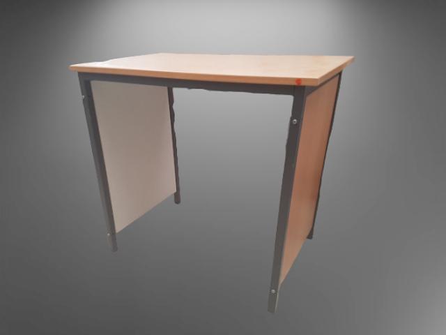 table hêtre pied panneau