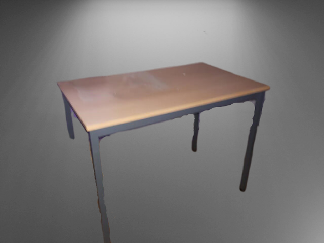 Table rectangulaire L100 P60