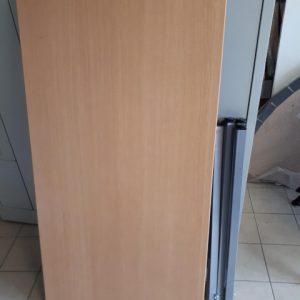 Z5.18 TABLE HETRE  L120 P60 4 PIEDS GRAPHITE (1 JEU NOIR)