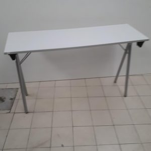 Z5.2 TABLE FORMATION PLIANTE GRIS CLAIR 120 X 40