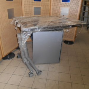 Z5.29 TABLE RABATTABLE WENGUE L 120 P 80