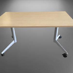 Z63.16 TABLE RABATTABLE STRAFOR 140X80 HETRE CLAIR