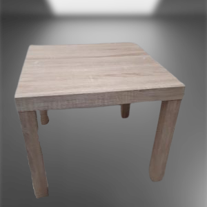 Z66.4 TABLE BASSE CARRE  50 X 50 H 41.5  CHENE CLAIR