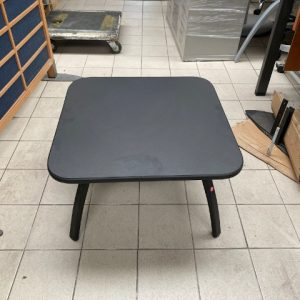 Z5.57 TABLE BASSE L60 P60 PLATEAU GRAPHITE CHANT NOIR