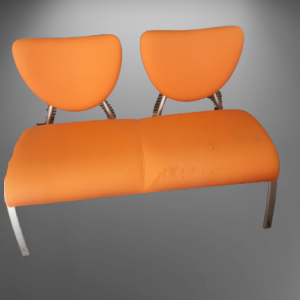 Z42.6 BANQUETTE 2 PLACES ORANGE