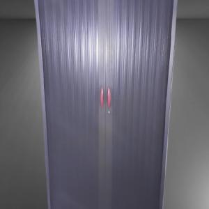 Z11.40 Armoire haute graphite rideau graphite L100