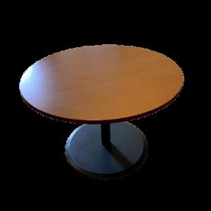 Z62.32 TABLE RONDE PIEDS GRAPHITE POIRIER 110